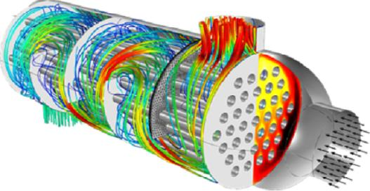 Performance Evaluation of a Shell and tube heat exchanger